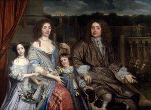 Sir Robert Vyner and his family – Copyright: National Portrait Gallery, London